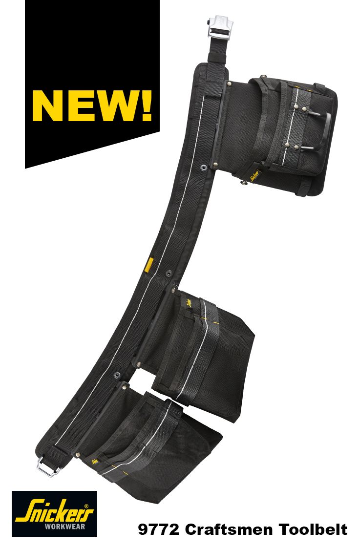Have you seen this #new guy yet? This new #toolbelt is available at your local Snickers Workwear dealer. It was designed for the true craftsman, so check it out!