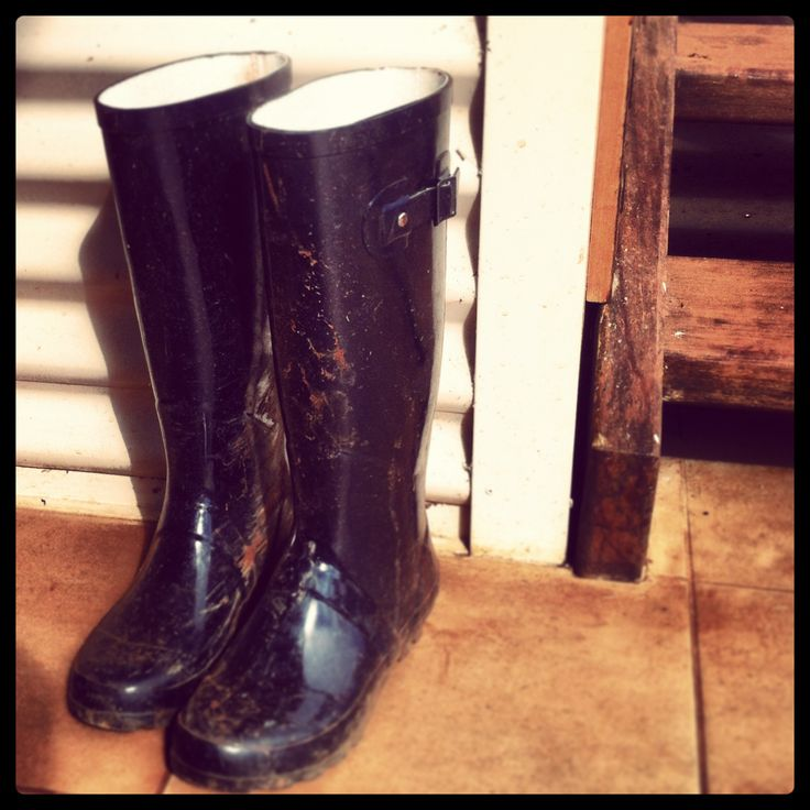 Shoe Talk...Prepare to get muddy!