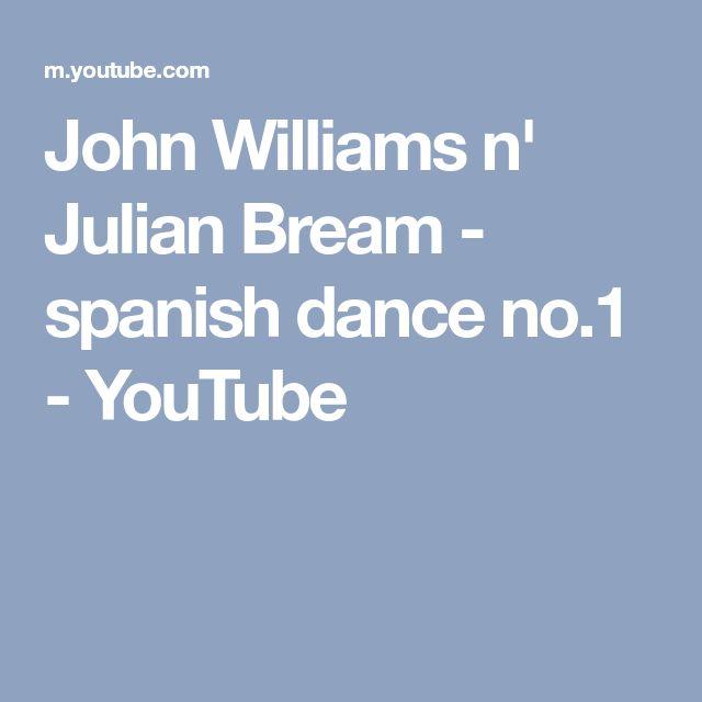 John Williams n' Julian Bream - spanish dance no.1 - YouTube