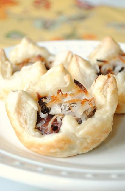 Recipe: Nutella puff pastry puffs