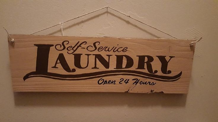 Self Service Laundry - Open 24 Hrs