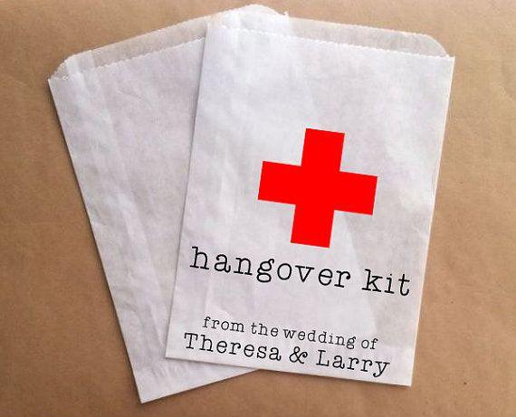 Sbornia Kit sacchetti matrimonio favore Bag di prettypaperparlor, $25.00