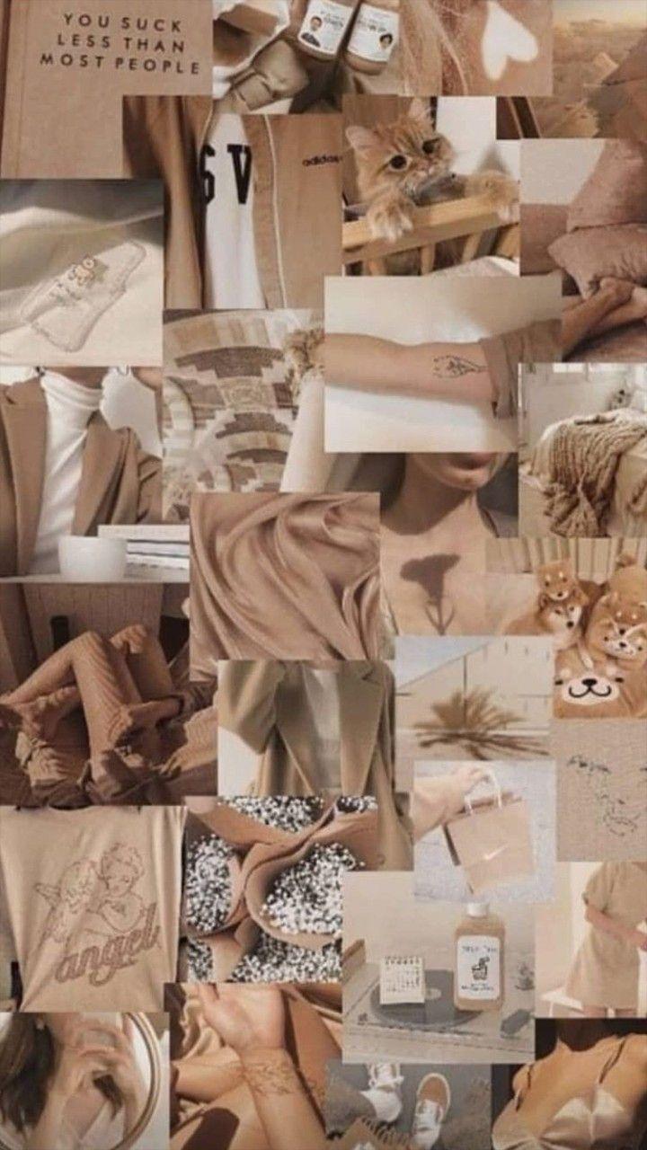 Backgrounds in 2020 Beige aesthetic Aesthetic pastel wallpaper Iphone wallpaper tumblr aesthetic