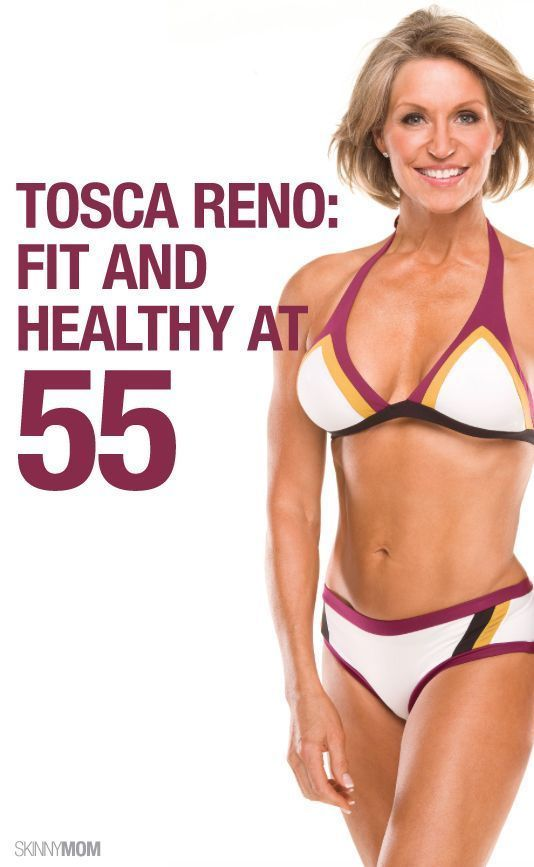 How Tocsa Reno keeps herself fit in her 50's.