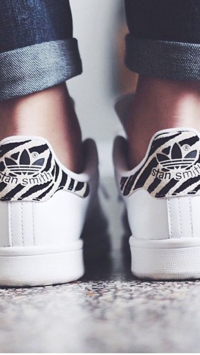 Stan Smith Zebra! http://www.modemusthaves.com/musthaves.html