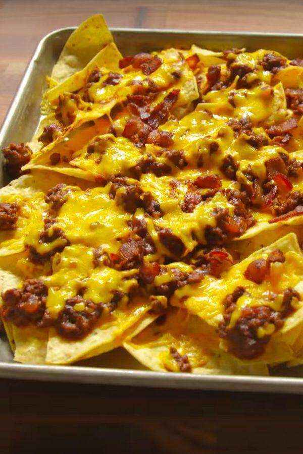 ... NACHOS on Pinterest   Ultimate nachos, Nacho recipes and Nacho
