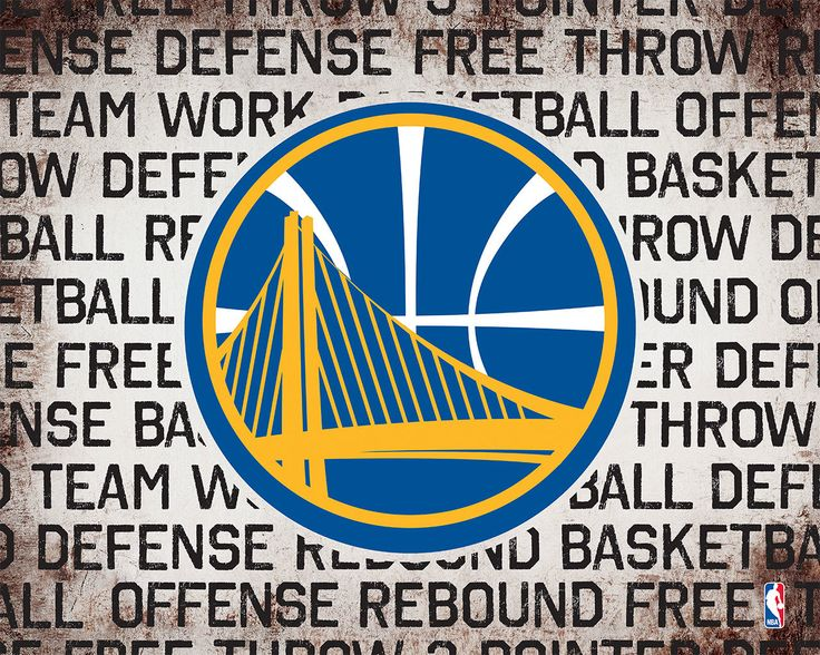 Golden State Warriors Logo on Typography