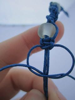 Easy Macrame Jewellery Tutorial...need to use this to fix my maven bracelet