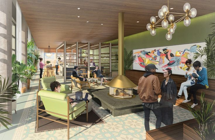 New Kids On The Block: The Newest DC Apartment Communities We've Got Our Eyes On   Brand New Apartments In Washington, DC   The Apollo Apartments In The H Street Neighborhood   Penthouse Club Room