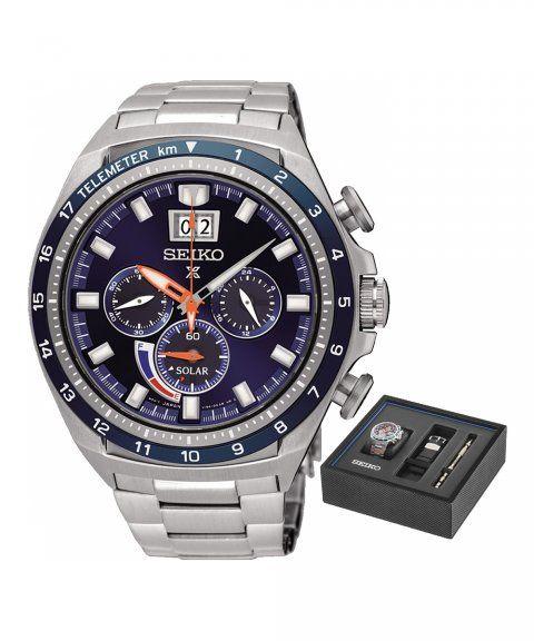 d01af715ba1 Seiko Prospex Gift Set Relógio Homem Chronograph SSC601P1EST ...