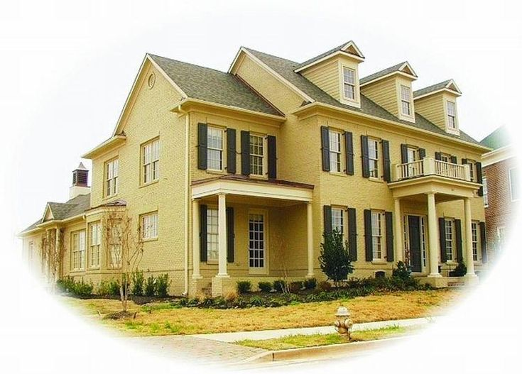 34 Best Colonial House Plans Images On Pinterest