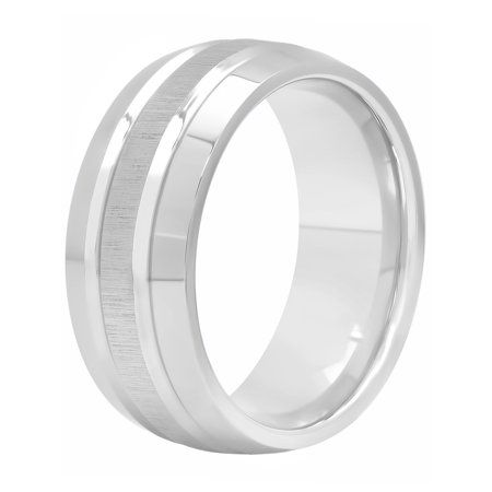 Best Quality Free Gift Box Cobalt Polished 8mm Band