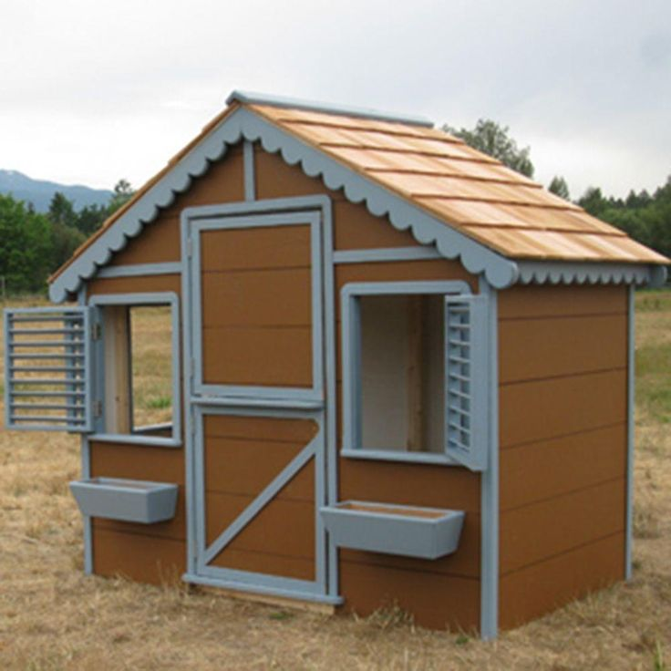 66 best images about outdoor fun on pinterest playhouse for Outdoor playhouse kit