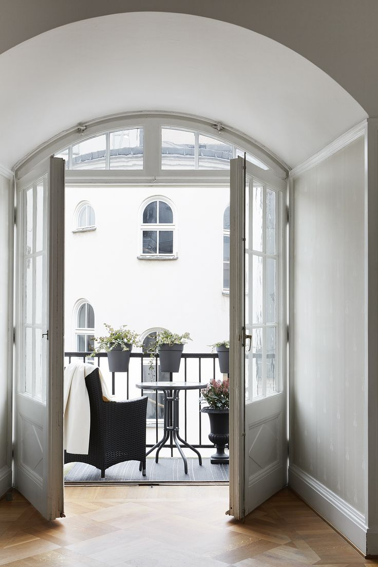 Balcony. Scandinavian interior. Fantastic Frank Real Estate.