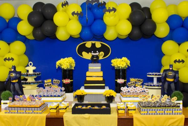 Southern Blue Celebrations: Batman Party Ideas