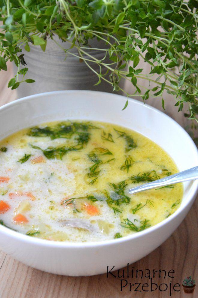Zupa Ogorkowa Pyszny I Sprawdzony Przepis Kulinarneprzeboje Pl Recipe Food Soup Zupa