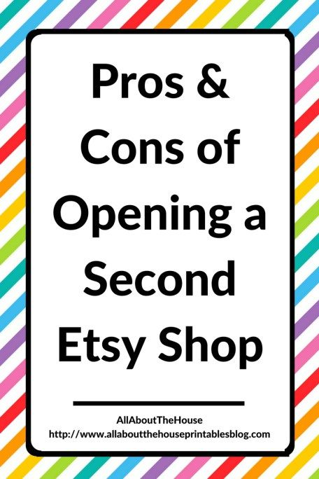 Thinking about opening a second Etsy shop? You should read this post