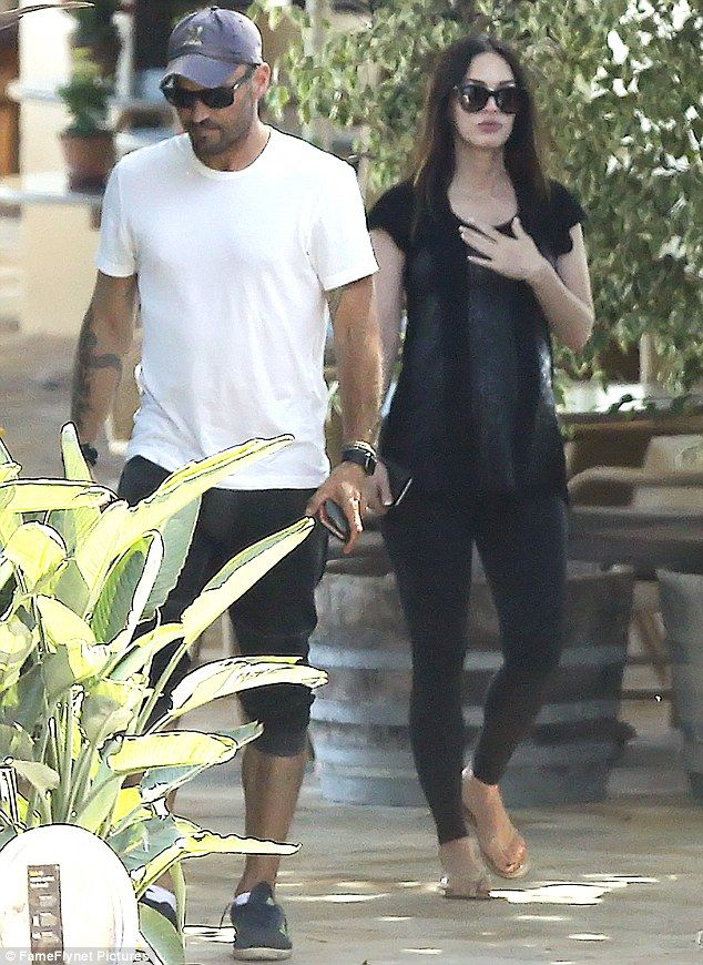 Pregnant Megan Fox and 'reconciled' husband Brian Austin Green head out | Daily Mail Online