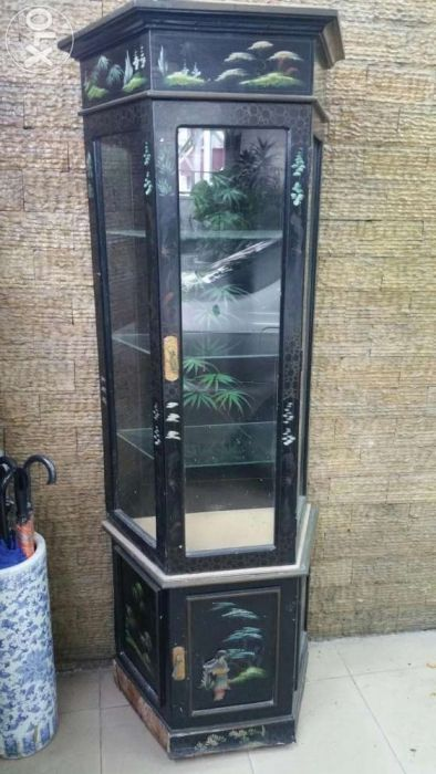 Wooden glass display cabinet For Sale Philippines - Find 2nd Hand (Used) Wooden glass display cabinet On OLX