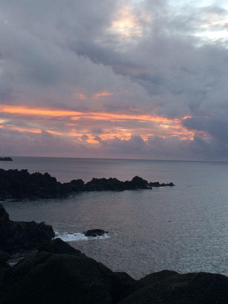 Atardecer Isla Pascua,Chile