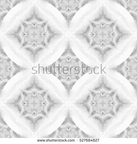 Black and white watercolor seamless pattern