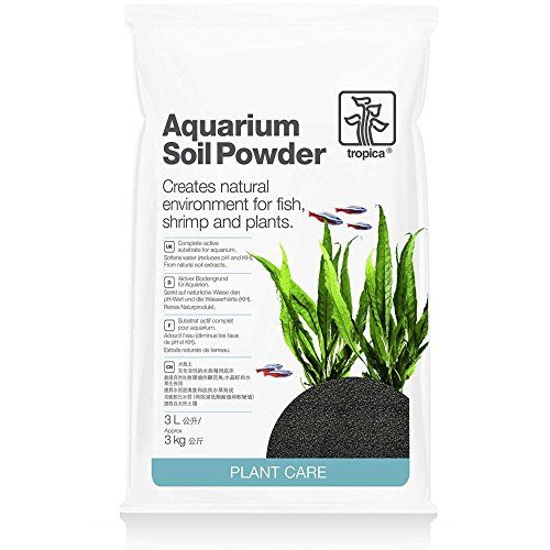 Tropica Plant Care Aquarium Soil Powder (fine granule) is a Japanese natural volcanic granulate material. Aquarium Soil naturally reduces your KH and pH value and enhances the ability of the plants to...