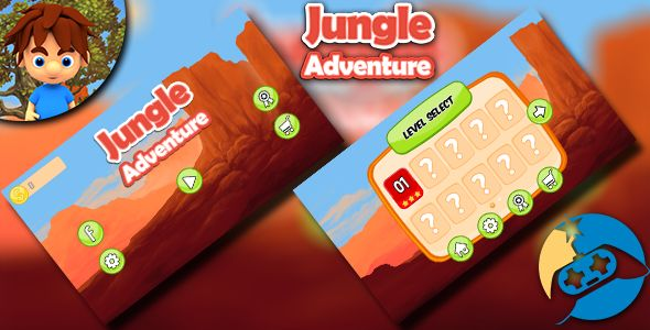 Jungle Adventures - AdMob ads + IAP + Splash Screen and more! Download: https://codecanyon.net/item/jungle-adventures-admob-ads-iap-splash-screen-and-more/17352326?ref=Ponda