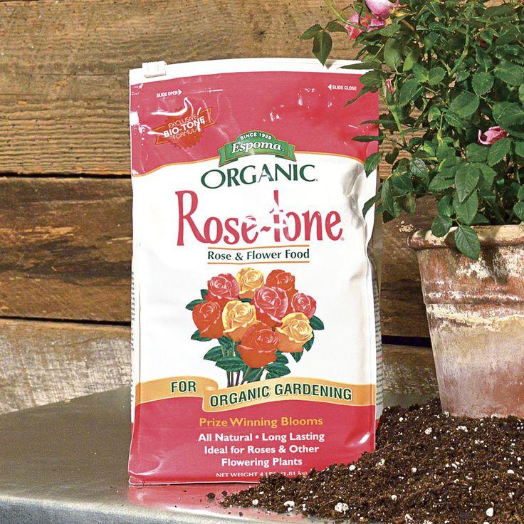 Espoma® Rose Tone® 4 Lb Bag Organic Roses Flower Food Rose 400 x 300