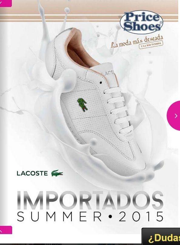 catalogo price shoes importados summer 2015 tenis la moda mas deseada pa...
