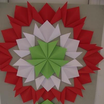 origami kokárda