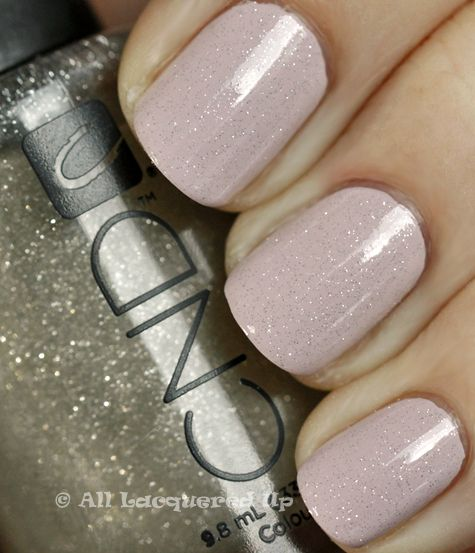 CND Shellac Silver Sparkle over Blueberry Whip. Love this colour, im looking for bridal looks to help my lovely brides2B!