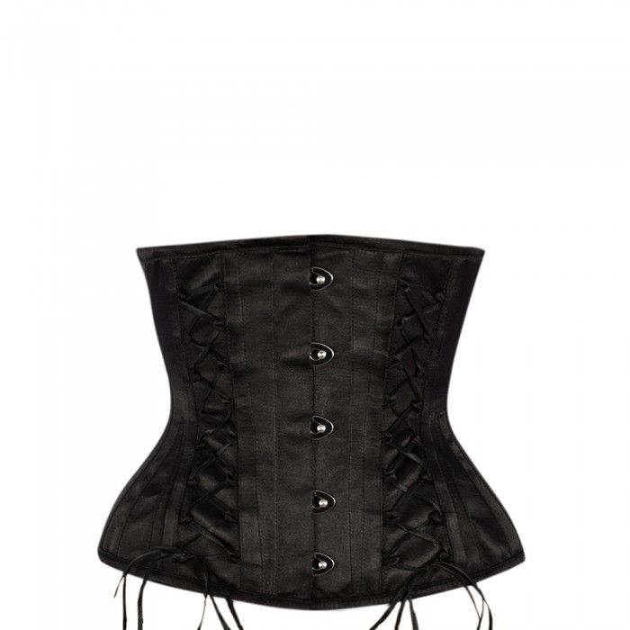 Classic Underbust with Rouleau Loops and Ribbon Lacing Details