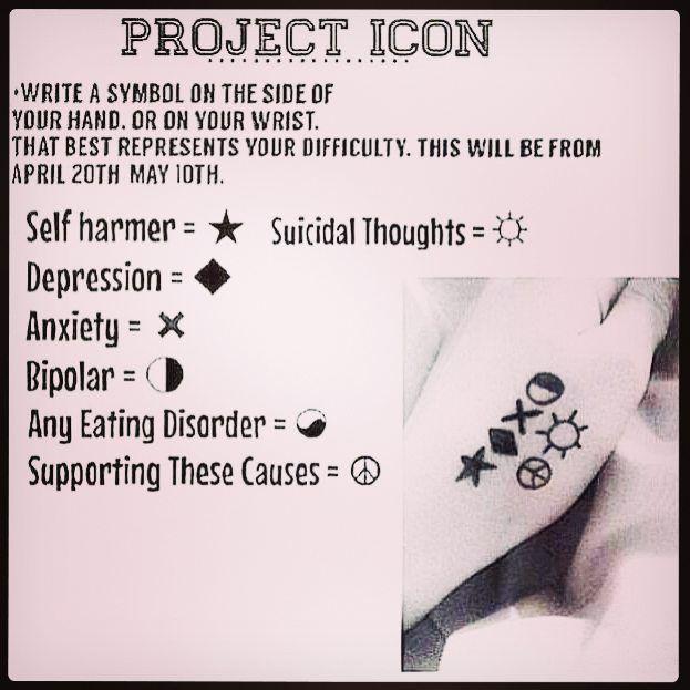 17 Best Ideas About Bipolar Tattoo On Pinterest: 17 Best Ideas About Depression Symbol On Pinterest