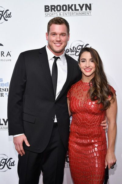 Aly Raisman Photos Photos - Football Player Colton Underwood and Olympic Gymnast Aly Raisman attend the Sports Illustrated Sportsperson of the Year Ceremony 2016 at Barclays Center of Brooklyn on December 12, 2016 in New York City. - Sports Illustrated Sportsperson of the Year Ceremony 2016