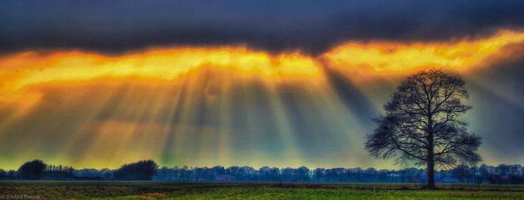 Sun over the Netherlands