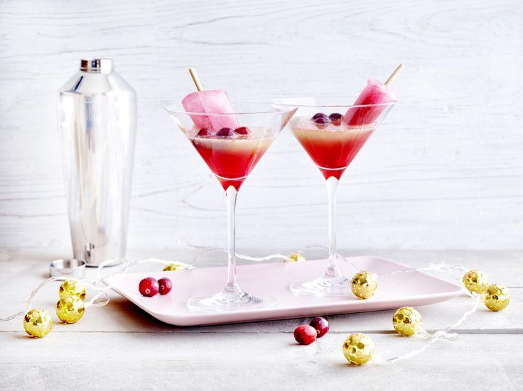 Cosmococktail met cranberry-ijs - Libelle Lekker