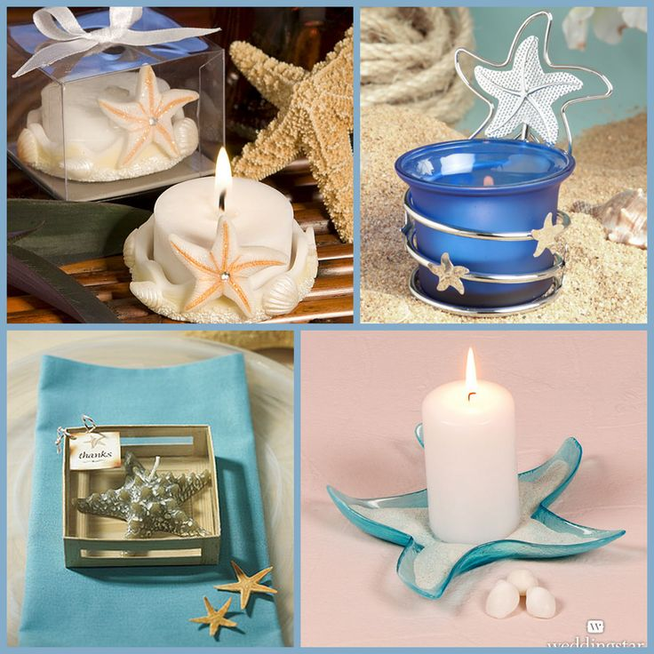 Starfish Candle from HotRef.com