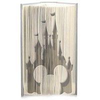 Disney world Mickey cut and fold book folding pattern