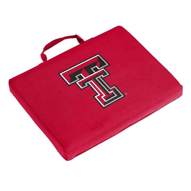 Logo Brand Texas Tech Red Raiders Bleacher Cushion, Multicolor