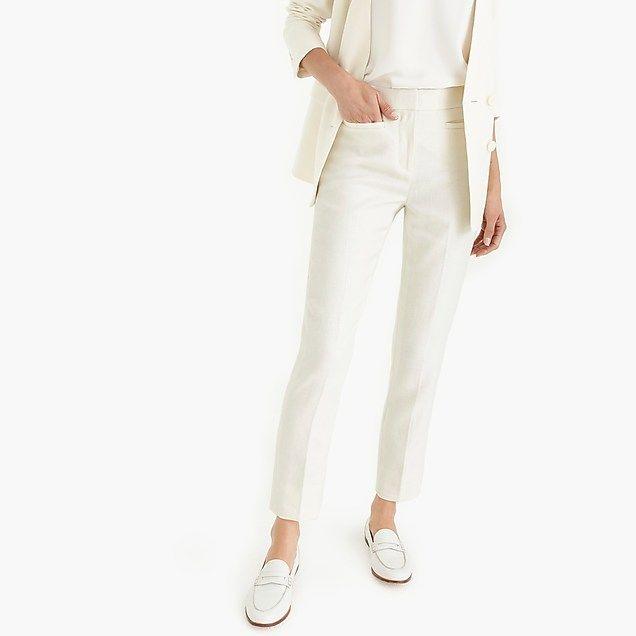 Crop Pant Suit