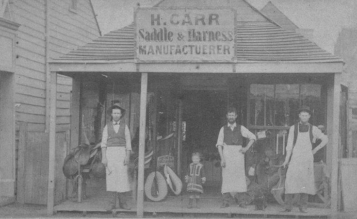 H. Carr Saddle and Harness Manufacturer at Murrumbidgerie,in the Riverina region of New South Wales in 1880. 🌹