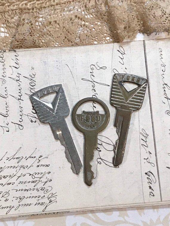 Vintage Ford Keys Ford Motor Company Car Key 1950 S Automobile