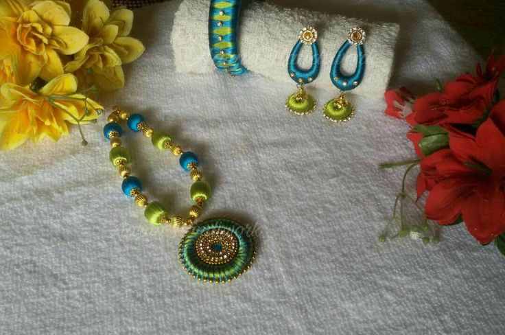 Blue Green set Can be customised to any preferred colour  To order watsapp to 83174 95219