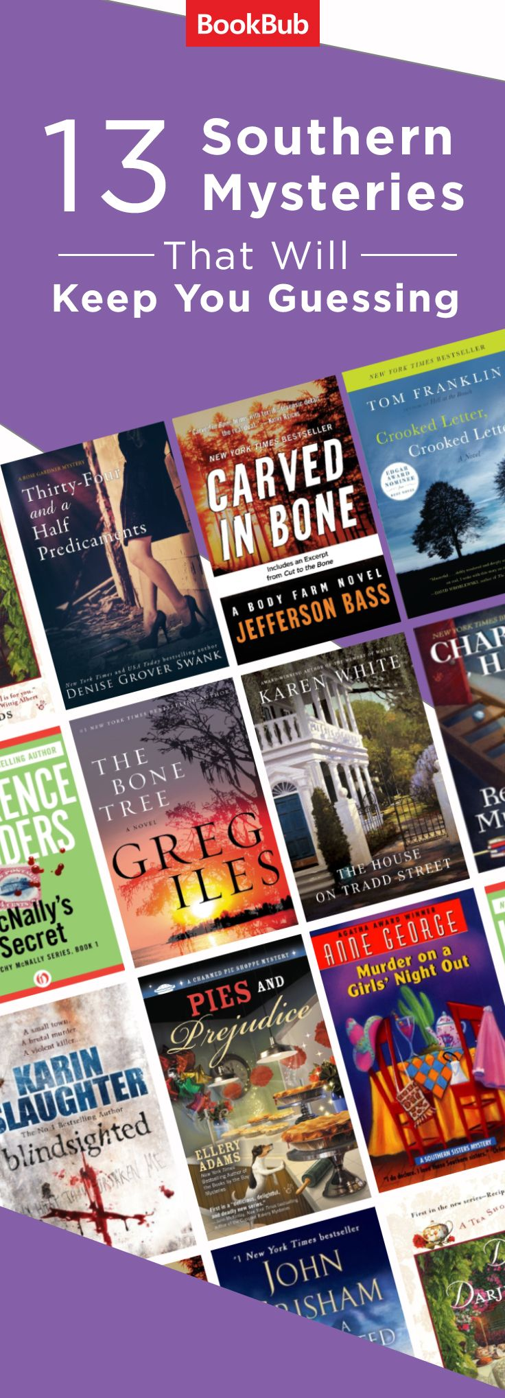 These mystery books are worth reading if you love novels set in the south
