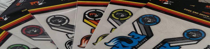Fox Heritage Decal Kits 2015 - die farbigen Federgabel und Dämpfer Dekorsätze für Fox Gabeln.