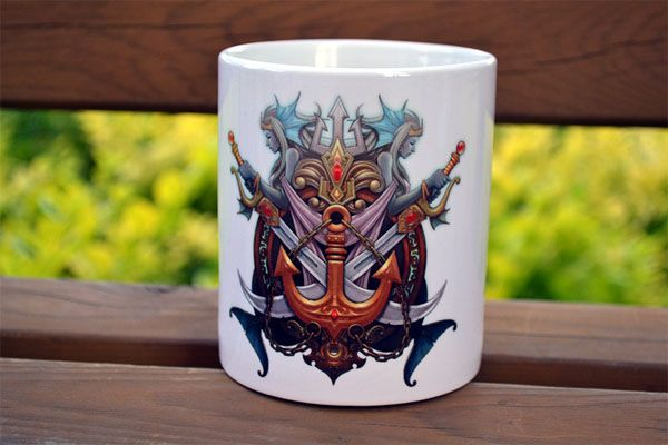 League of Legends Service Zone Logo Ceramic Cup Mug Coffee Cup