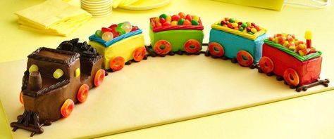 Do you know a train lover? Surprise them with a cake that's right on track.