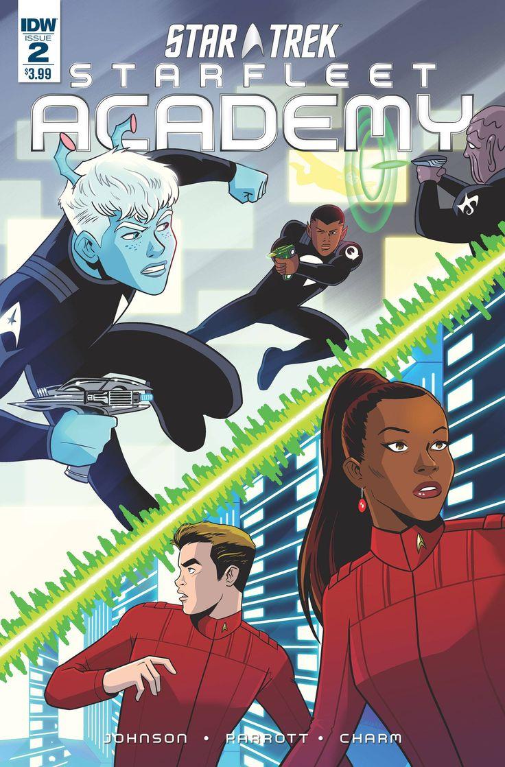 Star Trek Starfleet Academy (2015) Issue #2