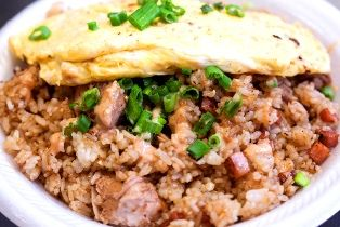 Pork Adobo Garlic Fried Rice