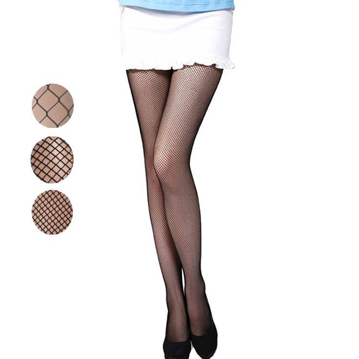 Estilo de alta calidad summer mujeres mallas medias atractivas de la manera de señora cool negro nets medias de nylon envío libre